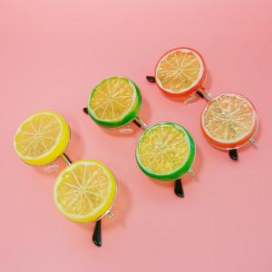 과일 안경 - 레몬/라임/오렌지