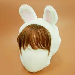 귀짧은 토끼 모자