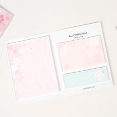 벚꽃 포스트잇