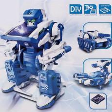 태양광 작동 변신로봇