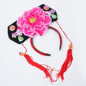 중국 황실 머리장식 머리띠 (랜덤발송)