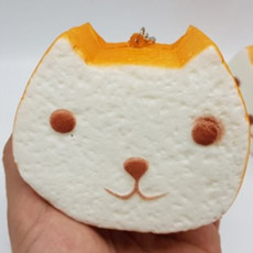 고양이 식빵 스퀴시