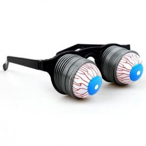 스프링눈알안경