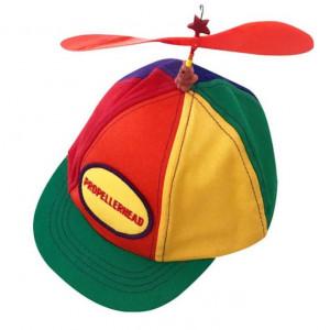 바람개비 모자