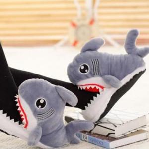 상어 털실내화