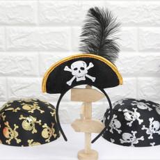 해적 모자 머리띠