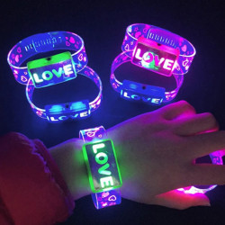 LED 러브팔찌
