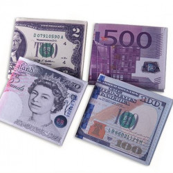 지폐 용돈 지갑