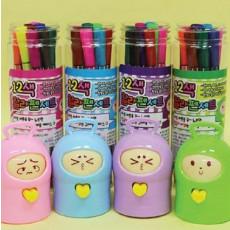 토이케이스 12색 싸인펜