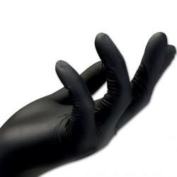 니트릴장갑 10매 M 블랙