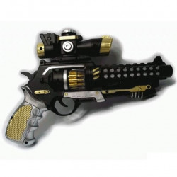 불빛사운드전자총