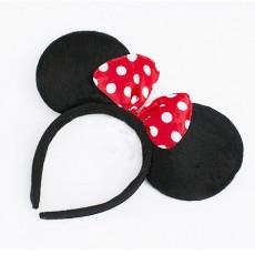 리본 마우스 머리띠