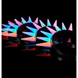 LED 모히칸 머리띠