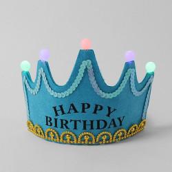 LED 생일왕관 머리띠
