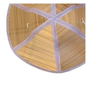 접이식 베트남 왕골모자