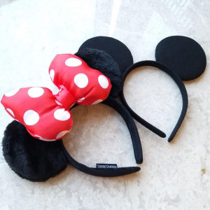디즈니 미키미니 머리띠