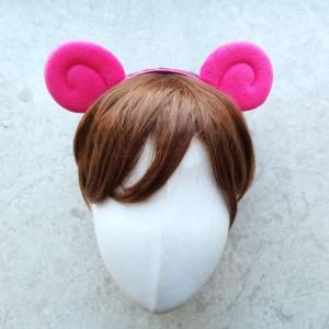 양머리띠-핑크