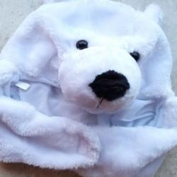 북극곰 모자