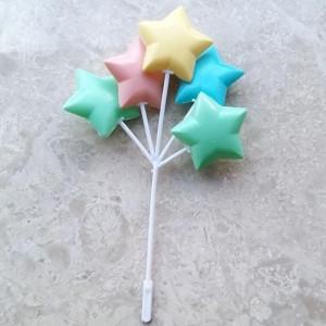파스텔 풍선 장식 (별)