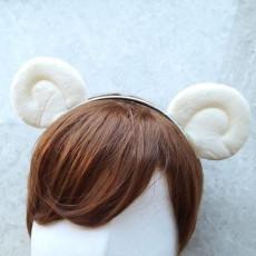 양 귀 머리띠