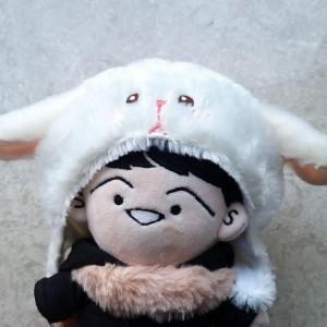 염소 모자 (20cm 인형용)