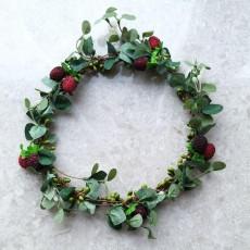 산딸기 화관