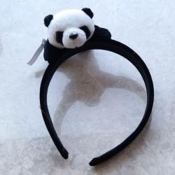 팬더 머리띠