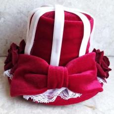 레드벨벳 모자 머리핀