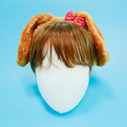 강아지 머리띠 (브라운)