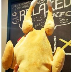 전자동 움직이는 치킨 닭다리 모자